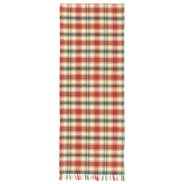 Mellette 100% Cotton Plaid Table Runner (Set of 2) by August Grove